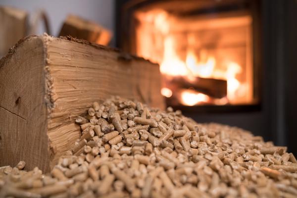 brandende pellets